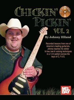 Johnny Hiland Chickin Pickin Vol 2 Guitar Tab Book CD New