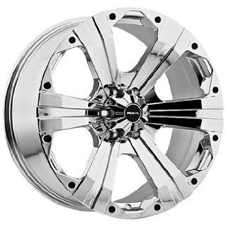 Ballistic Outlaw 20x9 Chrome Wheel / Rim 8x6.5 with a 12mm Offset and