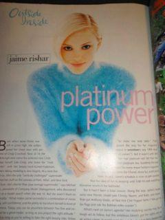 Seventeen 9/1994 Jaime Rishar, Hilary Swank, Claire Danes, Jim Carrey