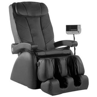 Massage Montage Elite Chair Black Free Heat Smart Heater Bundle