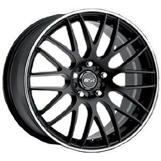 MSR 45 17 Black Wheel / Rim 4x100 & 4x4.5 with a 42mm Offset and a 72