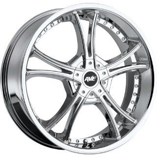 Avenue A604 20 Chrome Wheel / Rim 5x110 & 5x115 with a 40mm Offset and