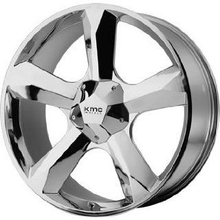 KMC KM674 20x9 Chrome Wheel / Rim 6x135 & 6x5.5 with a 15mm Offset and