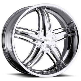 Milanni Force 18 Chrome Wheel / Rim 5x112 & 5x4.5 with a 38mm Offset