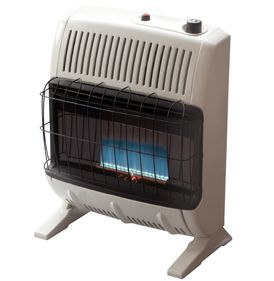 Mr Heater vent free heater LP Propane Gas Blue Flame 20K BTU