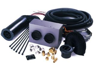 Heater Craft 200H Series Marine Heater Kit with 2 Euro Vents Complete