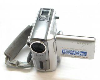 sony handycam dcr pc109 minidv digital video camera