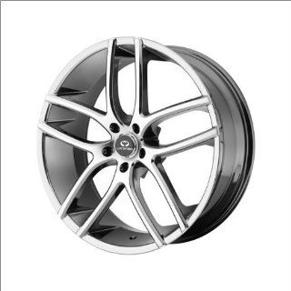 Lorenzo WL035 20x9.5 Chrome Wheel / Rim 5x112 with a 38mm Offset and a