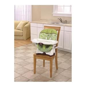 Fisher Price SpaceSaver High Chair & Booster Scatterbug Reclines 3