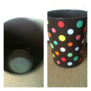 Target Home Lots O Dots Bathroom Trash Bin