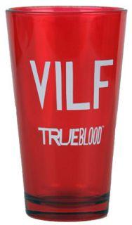 True Blood HBO Vampires Red Vilf Beer Soda Pint Glass