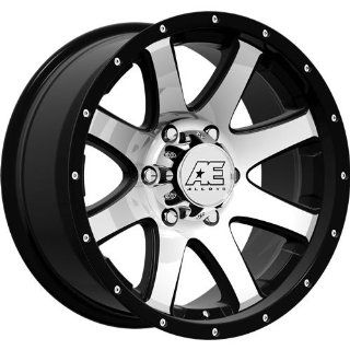 American Eagle 15 17 Black Machined Wheel / Rim 6x5.5 with a  5mm