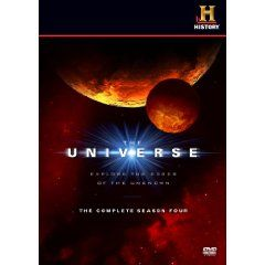 History Channel The Universe Complete Fourth Season 4 Four DVD Set NEW