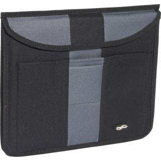 High Road Black Grey Gray Auto Car Seat Thin Slim Folio Organizer