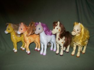 Bandai Strawberry Shortcake Doll Pony Horse Lot