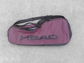 Head Tennis Racquet Carry Case Cover for 2 Racquets
