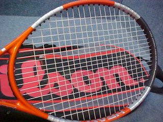 Head Liquidmetal Radical Tennis Racket w Wilson Bag