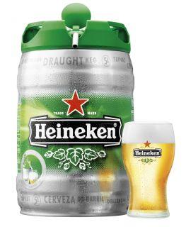 Fits 5L Heineken, Heineken Light or NewCastle Brown Ale Draught