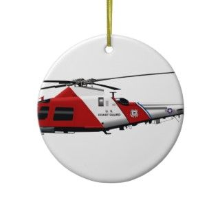 Agusta MH 68 Stingray Christmas Ornament
