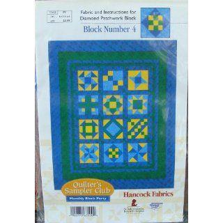Fabrics Diamond Patchwork Block Number 4: Arts, Crafts & Sewing