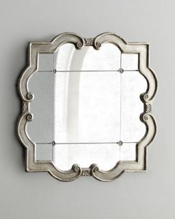 Silver Leaf Mirror