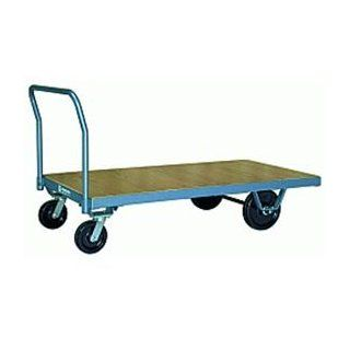 Platform Truck 30x60 Wood Deck Metal Wheels 3000 Lbs