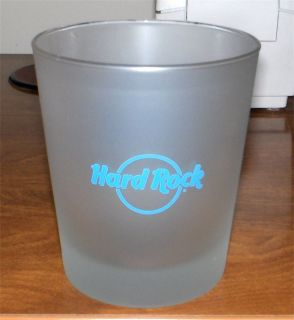 HARD ROCK CAFE 35 AMBASSADORS OF ROCK FROSTED GLASSWARE LOVE ALL SERVE