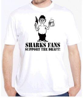 Sharks Fan Draft Beer Funny Hockey San Jose Shirt