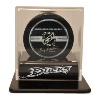 Anaheim Ducks Hockey Puck Display Case Holder