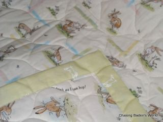 Guess How Much I Love You Nutbrown Hare Nursery Crib Reversible Quilt