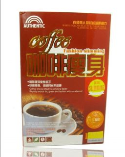 Original Authentic Fashion Slimming Coffee 1 Box 19 Bags Weight Loss