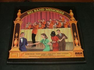 Big Band Memories 5 Album Box Set RCA Records 1973