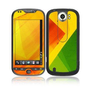 Colored Leaf Decorative Skin Cover Decal Sticker for HTC