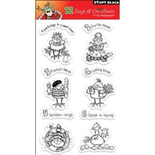 Penny Black Clear Stamps, 12 Days of Christmas Arts