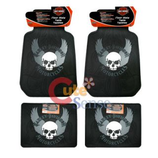 Harley Davidson 9pc Car Seat Covers Accessories Set