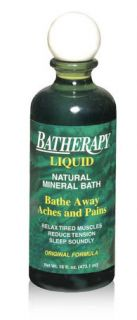 Queen Helene 16 oz Batherapy Mineral Bath Liquid Epson Salts Spearmint