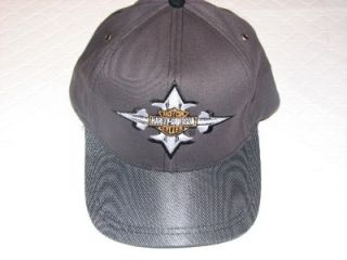 Harley Davidson 2 Tone Gray Mystic Embroidered Baseball Hat Cap New