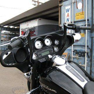 Paul Yaffe MBB 12 B 1 1/4 Bagger 12 Black Monkey Bars for Harley