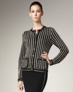 MARC by Marc Jacobs Striped Wool Jacket