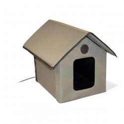 Pet Products Outdoor HEATED Kitty House 22 x 18 x 17 39993