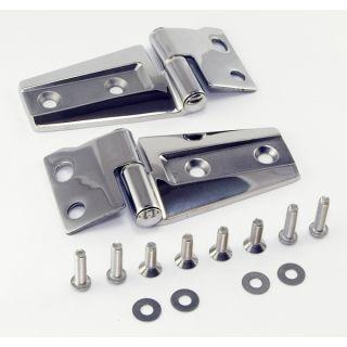 Ridge 11111 22 Hood Hinge Kit Stainless Steel Includes 2 Hinges