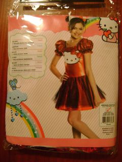 Girls (8 10yrs) Hello Kitty Costume size Medium MUST SEE