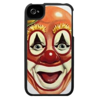 Retro Vintage Kitsch Clown Happy Face, originally mask art! Looks
