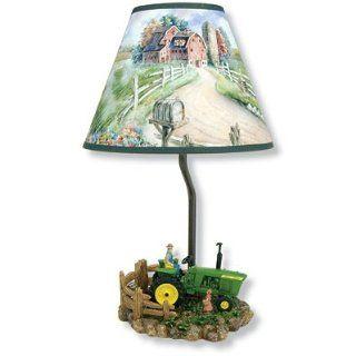 John Deere Lunch Time Table Lamp