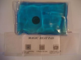 Body Therapy Reusable Heat Pad Hand Warmer Gel Pack