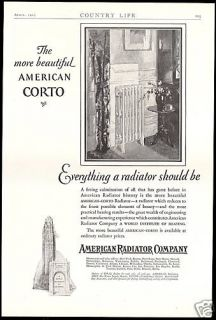 1927 American Radiator Co Beautiful Home Heating Ad