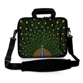 15 Inch Classic Green Peacock DOUBLE Sided Print Design