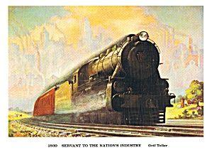 Vintage Pennsylvania Railroad Prints Lot of 5 Different Prints