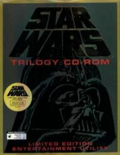 Star Wars Trilogy CD ROM Limited Edition Entertainment Utility