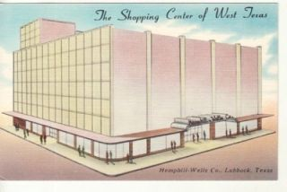TX Lubbock Hemphill Wells Department Store PC